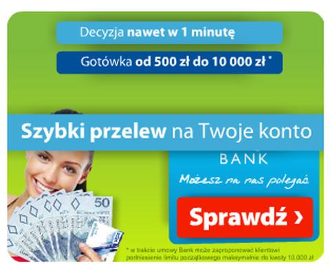 szybka pożyczka bez zdolności kredytowej